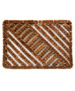 Diagonal Mat by Imports Decor