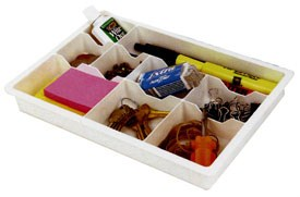 9 Compartment Organizing Tray (Set of 2) Image