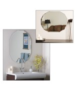 Diamond Double Beveled Mirror