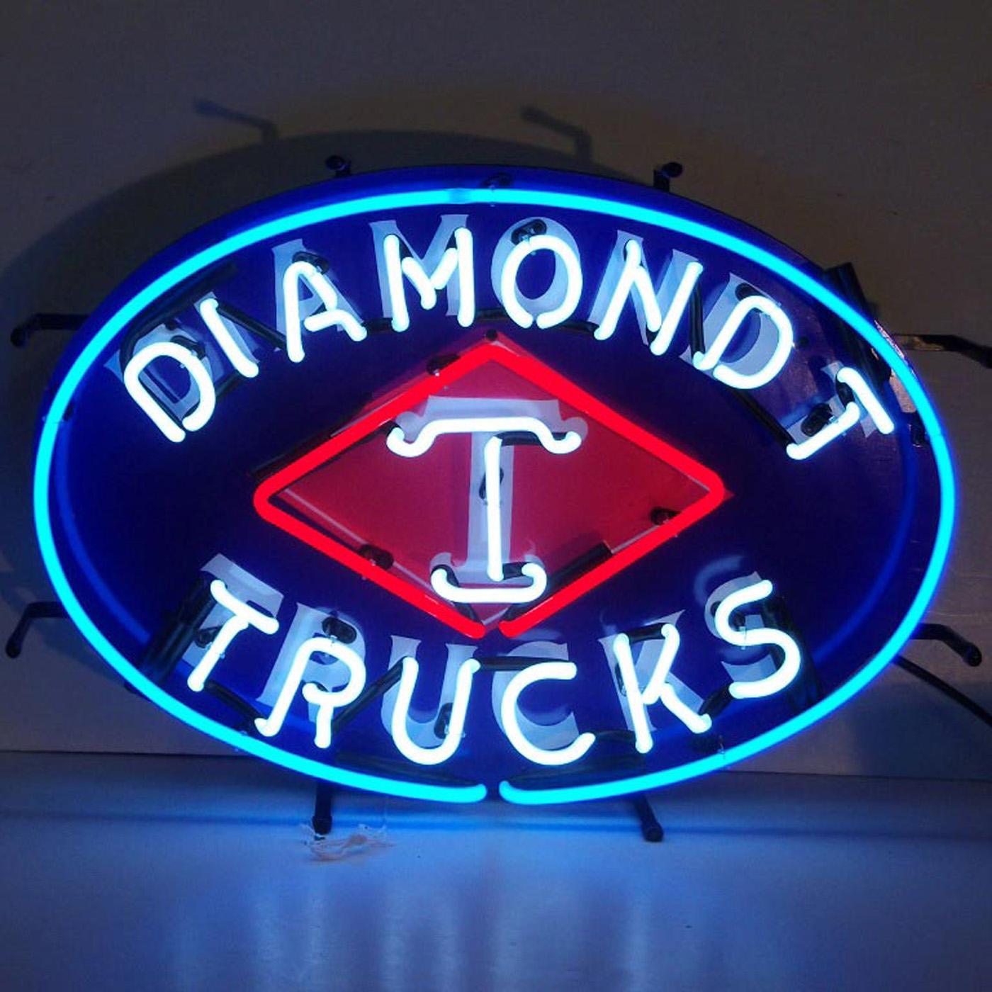 Diamond T Trucks Neon Sign by Neonetics in Neon Signs