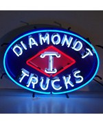 Diamond T Trucks Neon Sign by Neonetics