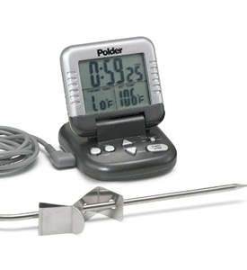 Digital Oven Thermometer with Timer Image
