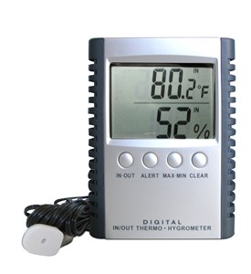 Digital Temperature and Humidity Gauge Image