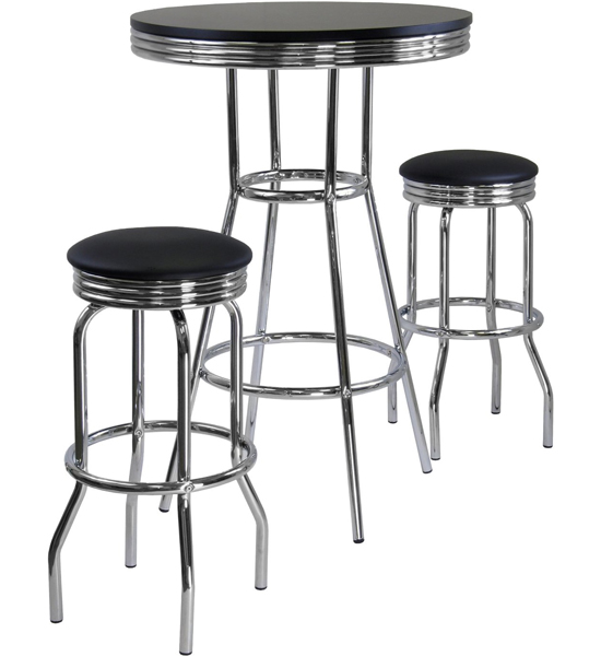 Diner Table and Stools in Bar Table Sets : diner table and stools from www.organizeit.com size 550 x 600 jpeg 100kB