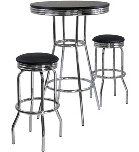 Diner Table and Stools Image