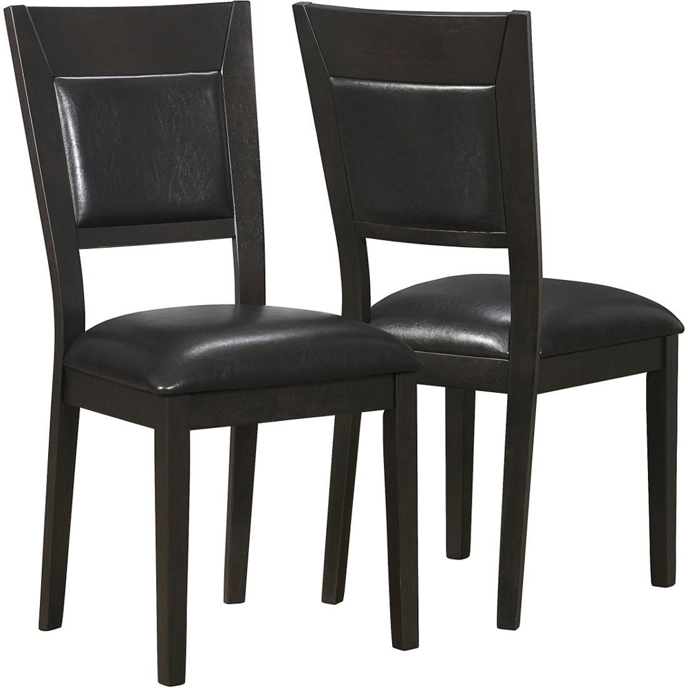 dining room table chairs set of 2 in dining chairs