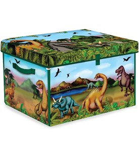 Dinosaur Toy Box - Playmat Image