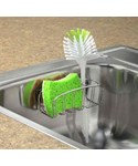 Dish Brush Holder - Chrome