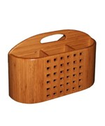 Dish Rack Utensil Holder - Bamboo