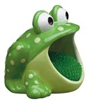 Dish Scrubber Holder - Frog