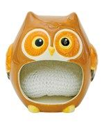 Dish Scrubber Holder - Woodland Owl