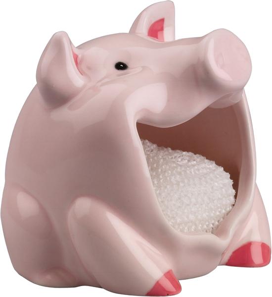 ... Dish Scrubber Holder   Pig ...