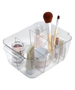 Divided Cosmetic Organizer Bin