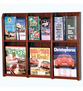 Brochure Rack - Oak Image
