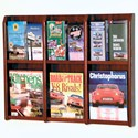 Brochure Rack - Oak