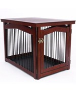 Dog Crate Table - Pet Gate