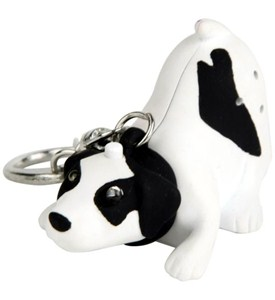 Dog Key Ring Image