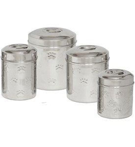 Dog Treat Canisters (Set of 4) Image
