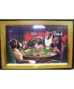 Dogs Playing Poker Neon LED Sign