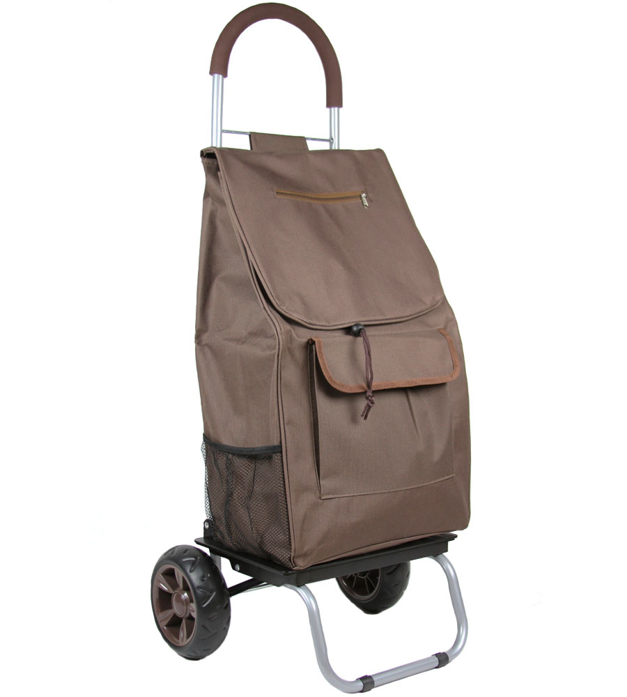 Trolley Dolly In Collapsible Shopping Carts