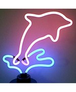 Dolphin Neon Sculpture