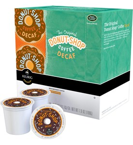 Donut Shop Decaffeinated Coffee K-Cups (Set of 18) Image