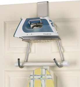 Door or Wall Mount Iron and Board Caddy Image