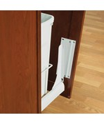 Slide-Out Door Brackets - White