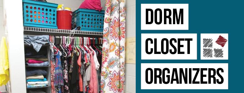 Dorm Closet Organizers