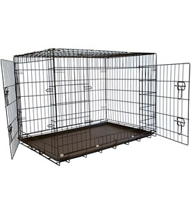 Double Door Dog Crate Image