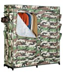 Double Door Storage Closet - Camouflage