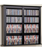Double Floating Media Storage - Black