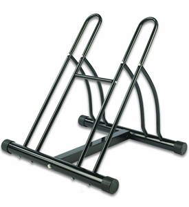 Floor Bike Stand - Double Image