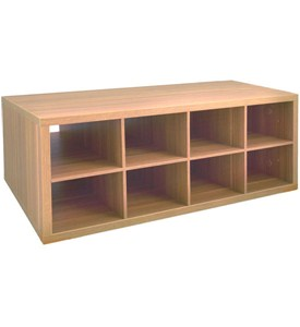 Double Hang O-Box Cubby Unit - Cypress Live Image