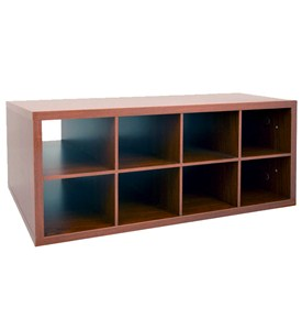 Double Hang O-Box Cubby Unit - Cherry Image