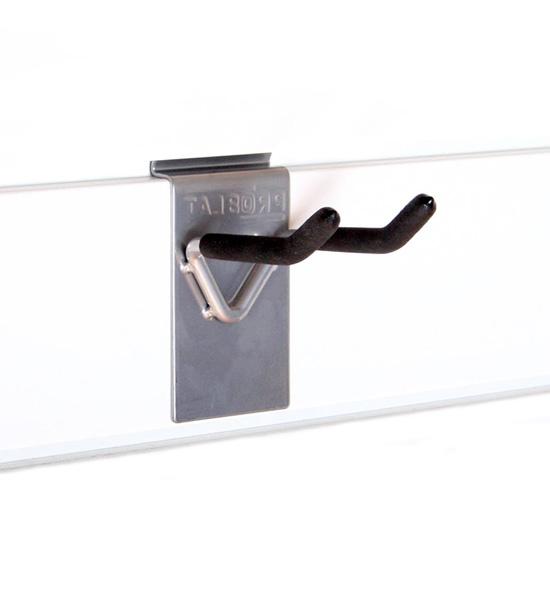 Double Hook Proslat 4 Inch In Proslat Garage Storage
