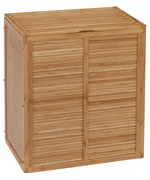 clothes and laundry hampers and sorters  organizeit -  double laundry hamper  ecostyle