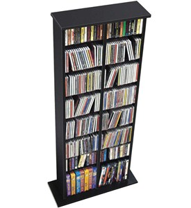 Double Multimedia Storage Tower Image
