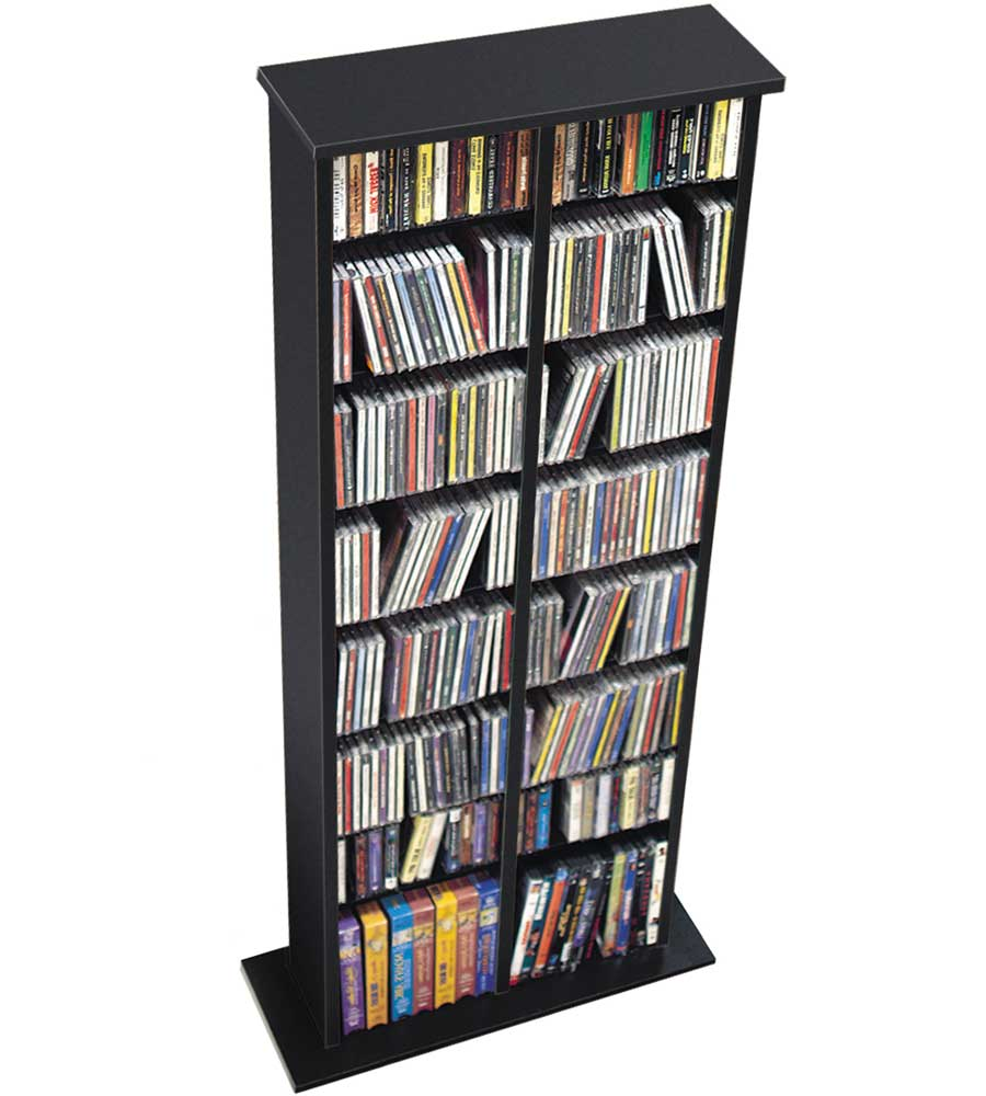 Double Multimedia Storage Tower Price: $96.99