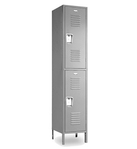 Double Tier Steel Storage Lockers by Penco Products, Inc Image