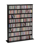 Double Width Multimedia Storage Tower