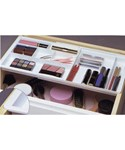 Drawer Doubler Divided Organizer - White