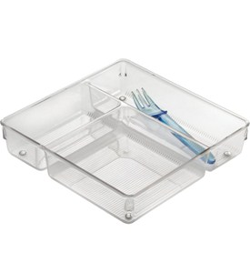 Drawer Organizer with Three Compartments Image