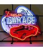 Dream Garage Camaro Neon Sign by Neonetics
