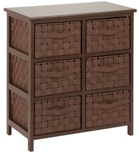 Dresser with Baskets Image