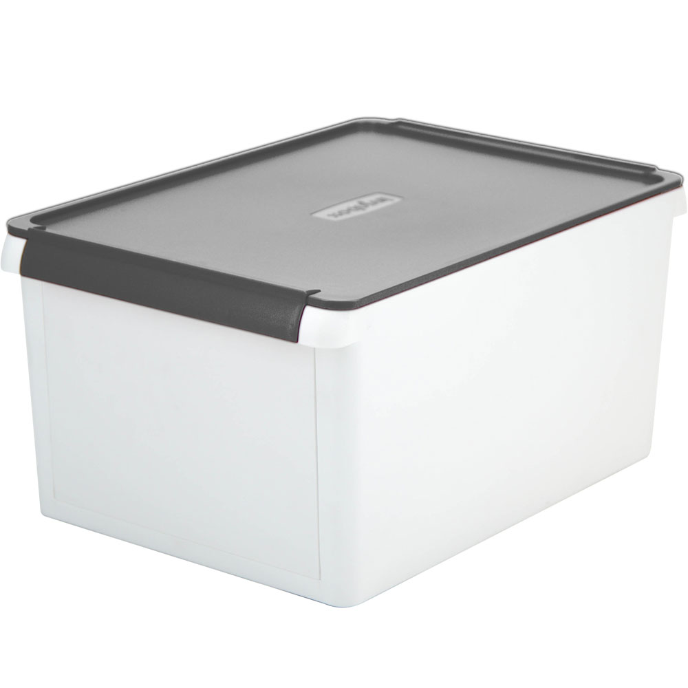 drop front storage box