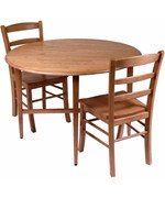 Drop-Leaf Dining Table and Chairs