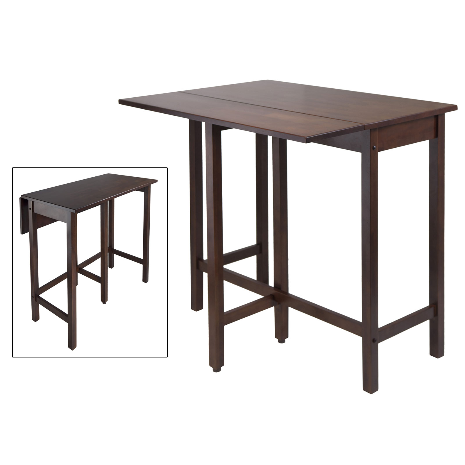 Drop leaf high table by winsome 94149 in dining tables for High dining table