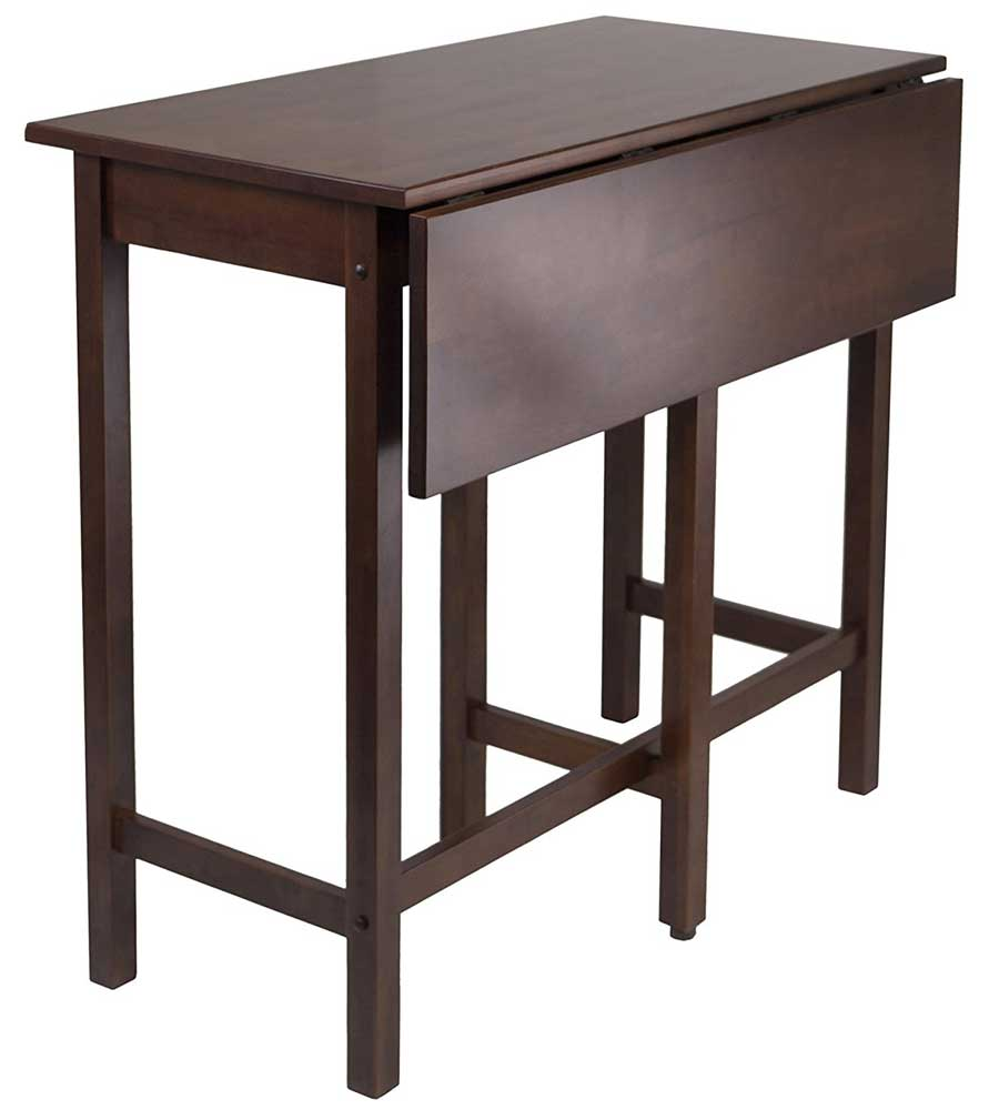 Drop Leaf High Table By Winsome 94149 In Dining Tables