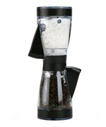 Dual-Action Salt and Pepper Grinder